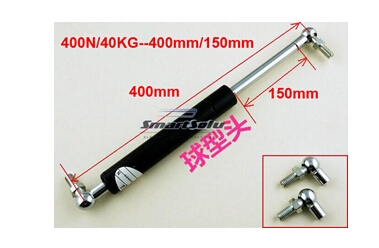 free shipping 40KG/400N force 400mm central distance, 150mm stroke, pneumatic Auto Gas Spring, Shock absorber spring 400