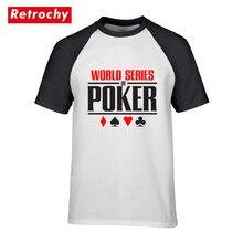 cb30319a7 World Series of Poker Logo Tshirts Latest Trendy Summer Cheapest Price t-shirt  Wsop Printed