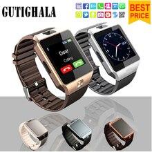 Gutighala 2018 Relógio Inteligente Apoio TF Sim Câmera DZ09 Men Sport Relógio de Pulso Para IOS Android Telefone PK A1 GT08 Q18 u8 Smartwatch