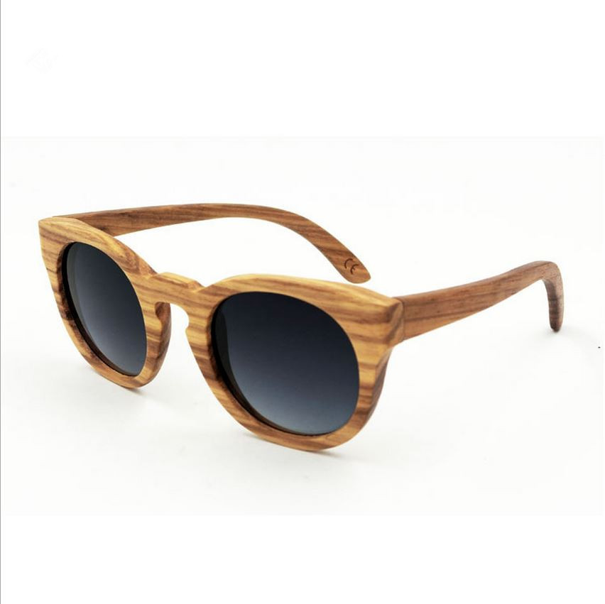 f5504258f3 Dernière mode Hommes/Femmes À La Main En Bois cadre lunettes de Soleil  Rétro Polarisées Lunettes Coloré lentille Réfléchissante lunettes de soleil  En Bois