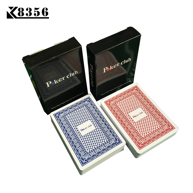 цены K8356 New Hot Smooth Waterproof Baccarat PVC Texas Hold'em Plastic Playing Cards PVC Poker Club Cards Board Games 2.48*3.46 inch