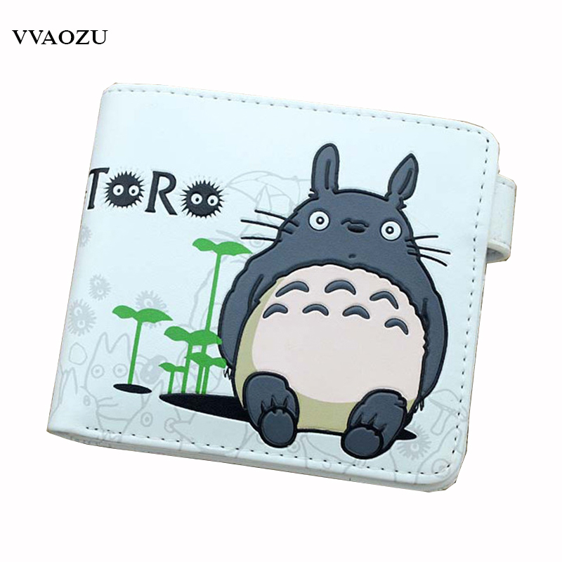 Anime My Neighbor Totoro Wallet Fashion Cartoon Card Holder Purse Female Wallets Carteira Masculina with Coin Pocket 2016 new design women cute wallet my neighbor totoro cute fashion cartoon woman bifolded wallet girl students long purse