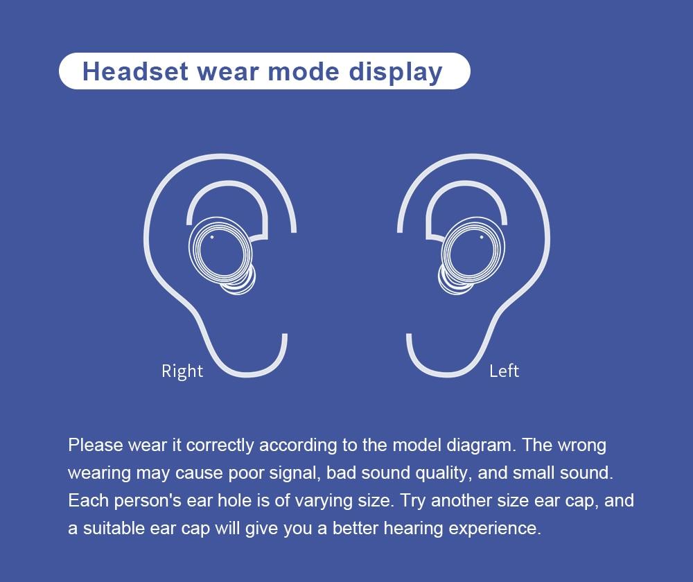 água esportes in-ear fones de ouvido bluetooth