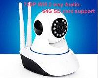 Wireless IP Camera Wifi Home Security Camera HD Cctv Camera P2P Camera With 64G TF
