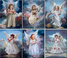 diamond painting christmas home decor diamant accessoires full rhinestone embroidery 5d Mosaic religion angel