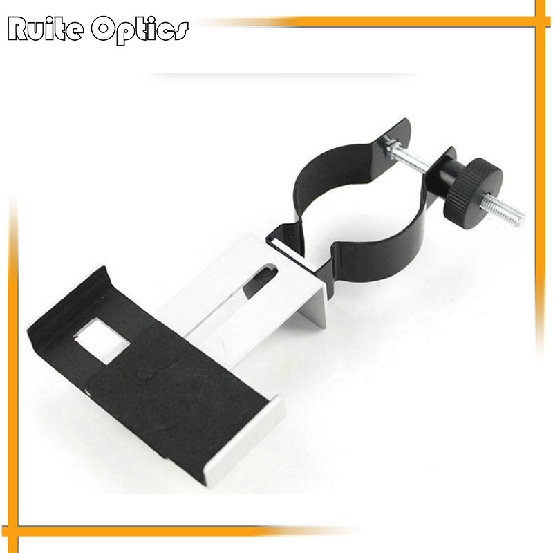 360 Degree Rotatable Universal mobile phone clip bracket for astronomical binoculars telescope shoot camera photography  цены