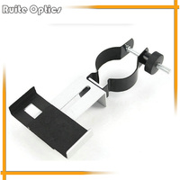 360 Degree Rotatable Universal mobile phone clip bracket for astronomical binoculars telescope shoot camera photography