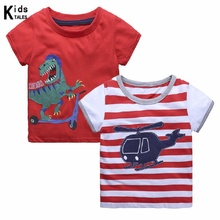 New Summer T-shirts for boys cartoon airplane children clothes Baby Tops for Boys Shoes Casual clothing for 2-6y girls autumn clothing pokemon hoodie children t shirts cartoon pikachu charmander boys clothes cotton pocket monster girls clothing