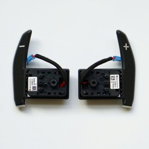 Steering Wheel Gear Shift Paddles For BMW M5 M6 F06 F10 F11 F12 F07 5 6 7 Series