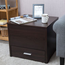 Nightstand Sliding Top with Hidden Compartment