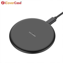 Fast Wireless Charger For Blackview BV5800 pro BV6800 Pro BV9500 BV9600 Pro ZTE Axon 9 10 Pro 5G Qi Charging Pad Phone Accessory смартфон zte axon 9 pro blue