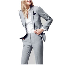 new Notch Lapel Women Ladies Formal Business Office jacket+Pants Suits Custom Made