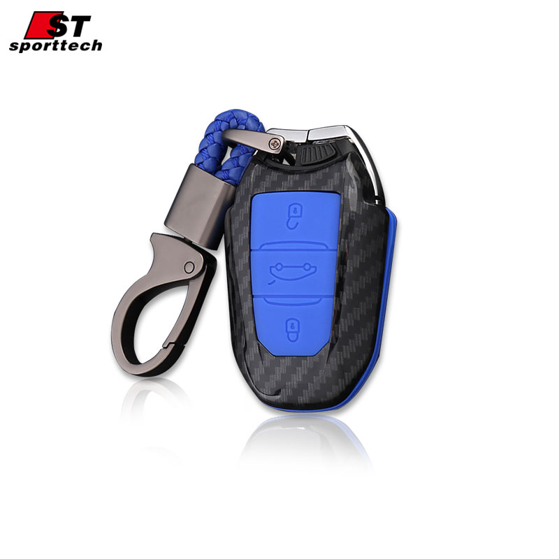 Car Styling Keychain For Peugeot 5008 4008 3008 2008 308 408 508 307 301 308S 207 206 Car Key Ring Case Cover Holder Accessories