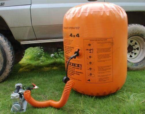 Nouveauté 3 tonnes 4 tonnes vérin d'échappement et vérin gonflable et pompe double usage Jack - 4