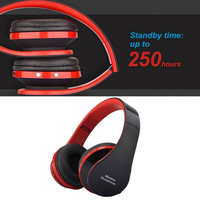 Hot Foldable Audio Bluetooth Handsfree Stereo Wireless Headphones Headset Wireless Earphone For Computer PC Headphone