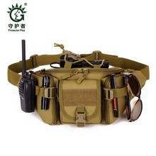 Hot Waterproof Waist Pack Belt Bag for Men Crossbody Bag Bum Fanny Bicycle Equipment Male Military Female Shoulder Bags