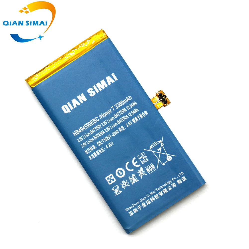 Qian Simai 3300mah Hb494590ebc Battery Replacement For Huawei Honor Charger Li Ion Based Lp2951 Shipment When You Place An Order Please Choose A Shipping Method And Pay The Including Fee We Will Send Items Within 3 5 Days