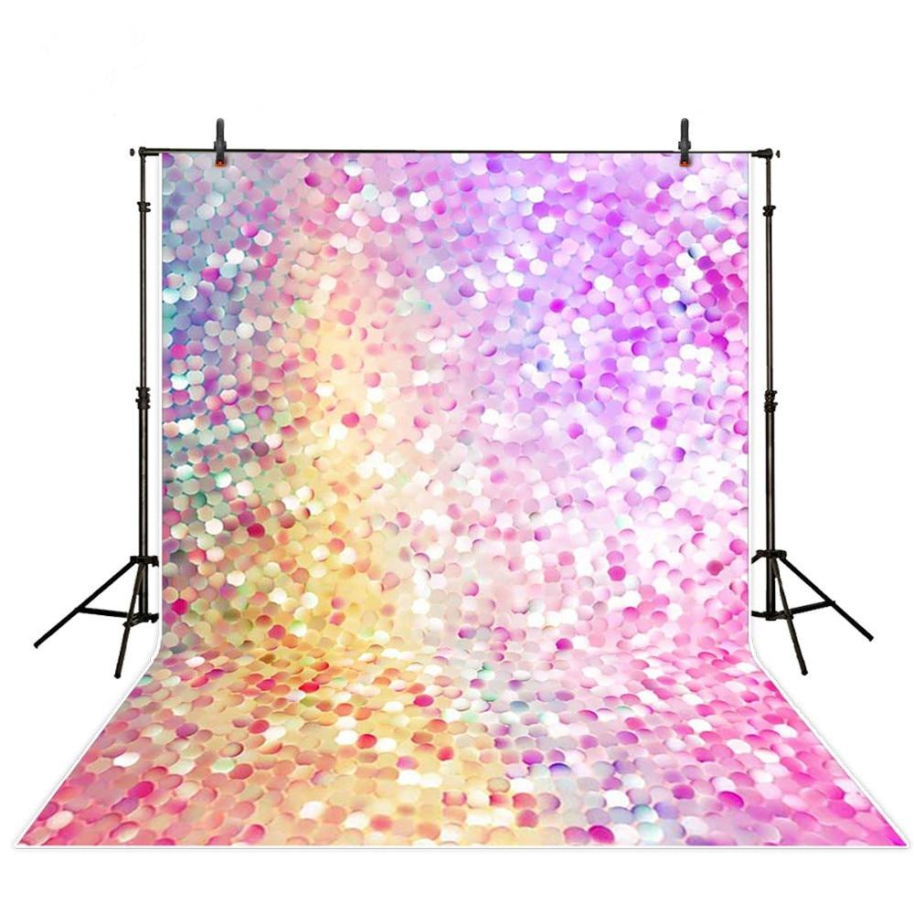fd34aab846750 الملونة الكريستال شرارة ضوء الوليد طفل صور خلفية الرقمية مطبوعة الفينيل  الخلفيات للتصوير الاطفال عيد ميلاد الصور