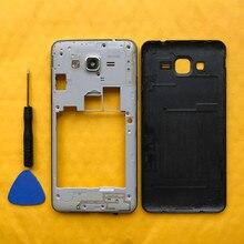 Original Mittleren Rahmen Für Samsung Galaxy Groß Prime G531 G531H G531F Telefon Gehäuse Chassis Fall Mit Hinten Batterie Tür Abdeckung