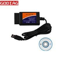 ELM327 V1.5 OBD2 EOBD CANBUS tarayıcı arabirimi ELM 327 obd tarama ELM327 V2.1 yazılımı ELM327 USB