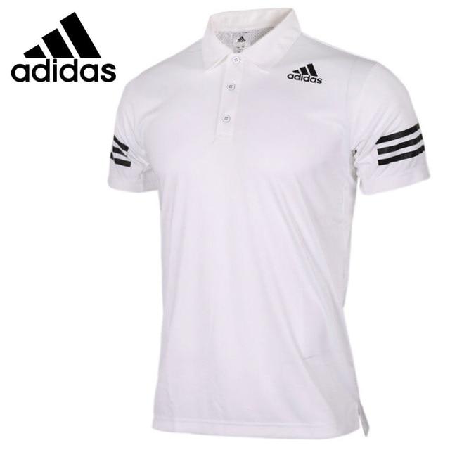 342f651aaa8dc Original nueva llegada Adidas Climacool hombres Ejercicio de POLO de manga  corta ropa deportiva