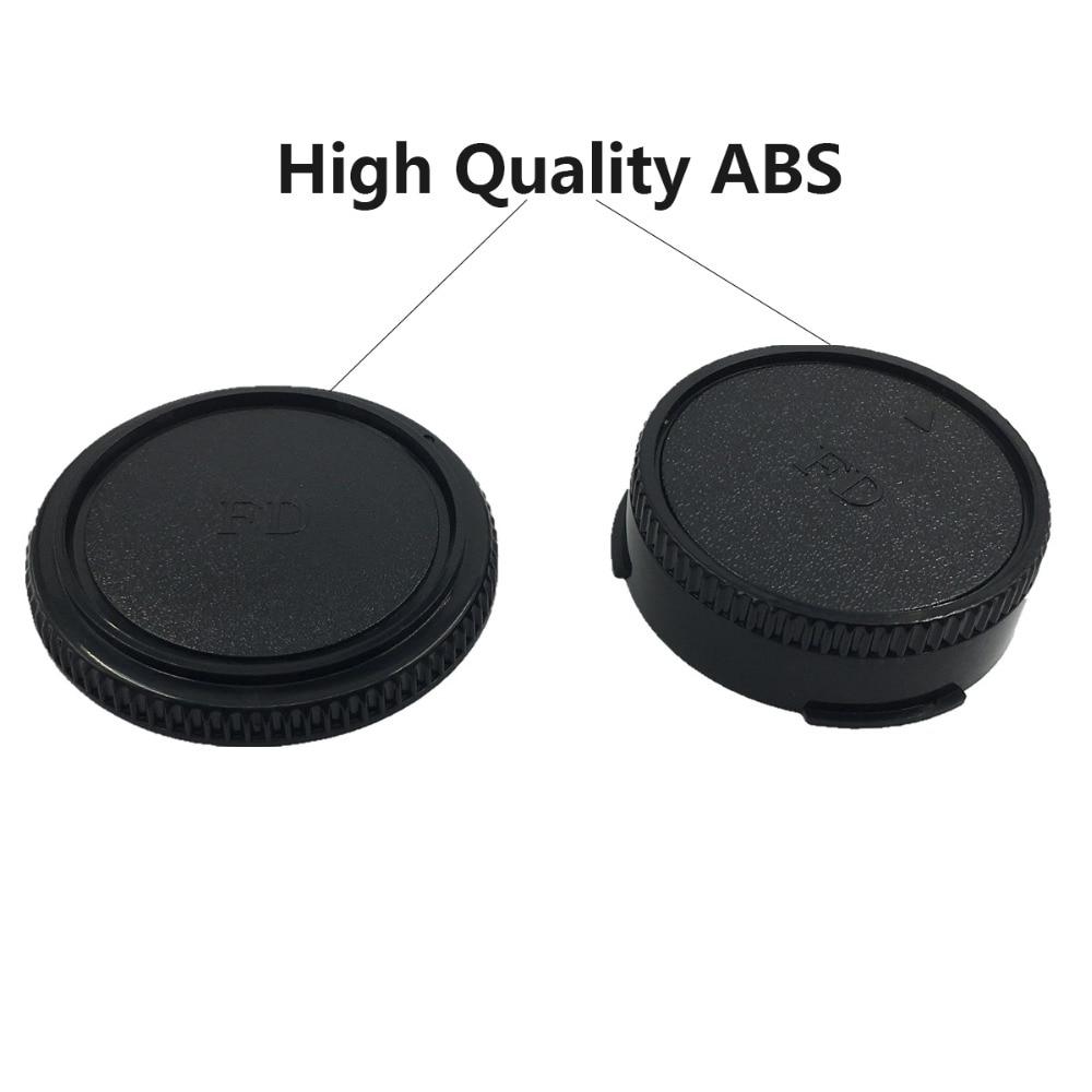 LXH 2-pack framkropps kroppslock och bakre linsskyddslock till Canon - Kamera och foto - Foto 3