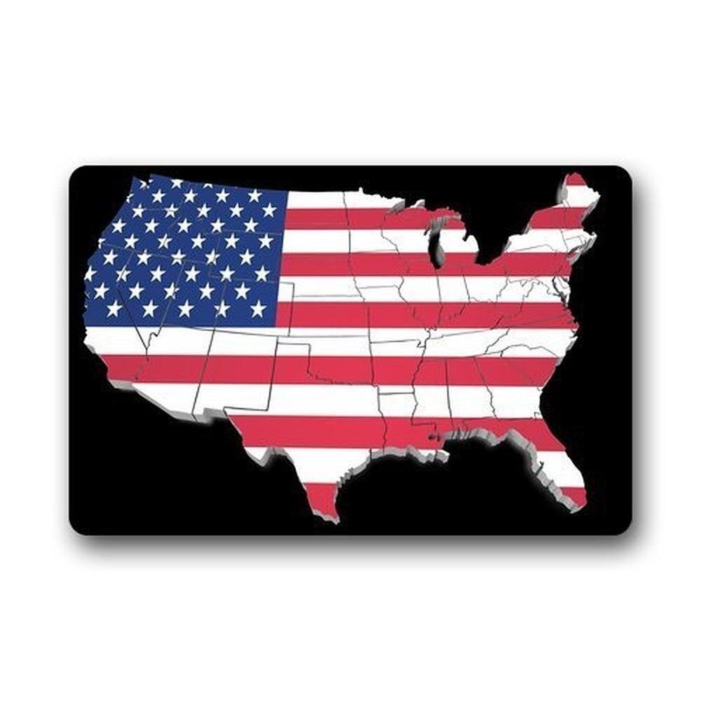 Online Buy Wholesale American Flag Rug From China American Flag - China map in us flag