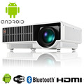 2800 Lumen 1080P Home Theater Projector Android 4.4 Quad Core Dual Wifi Bluetooth 4.0 HDMI USB LCD LED Projector  DHL Free