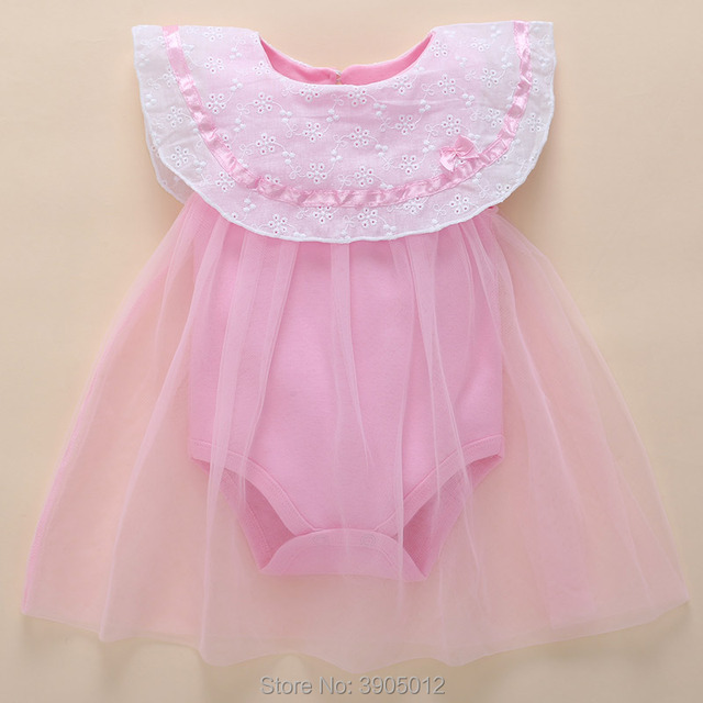 be6149c10871 0 3 months baby girl dresses Summer Clothes Cotton 3-6 Months 4 Thin  Section 5 Newborn Princess 12 Wear Free Shipping New Real