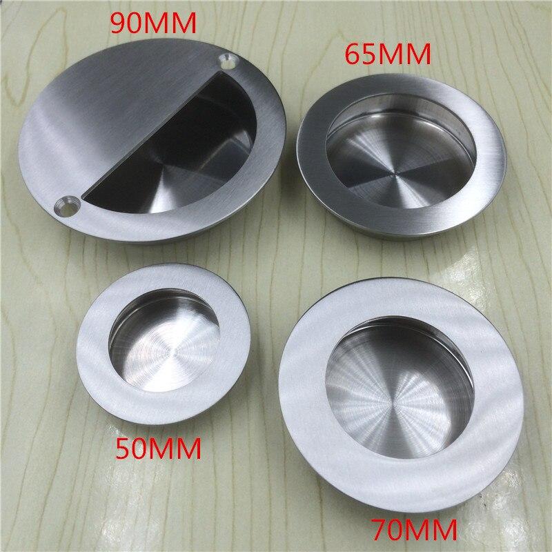 Stainless Steel Concealed Door Handle Door Handle Small Handle Cupboard  Doorknob Ofcupboard Round Handle