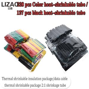 Electrical-Cable-Tube-Kits Tubing-Wrap-Sleeve Assorted Heat-Shrink-Tube Mixed-Color Car