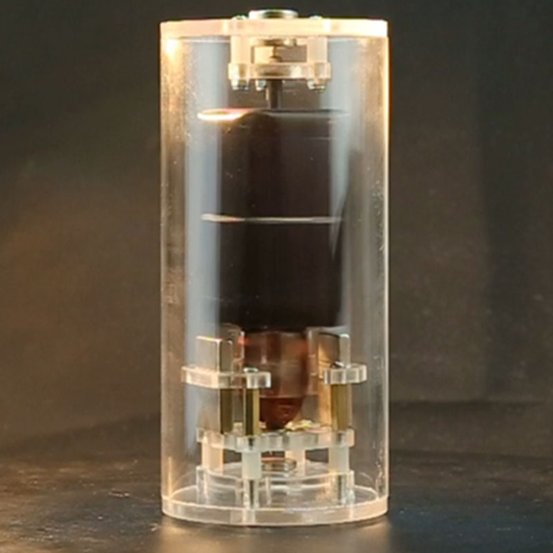 DIY creative men's gift magnetic suspension solar motor Mendocino motor teaching model