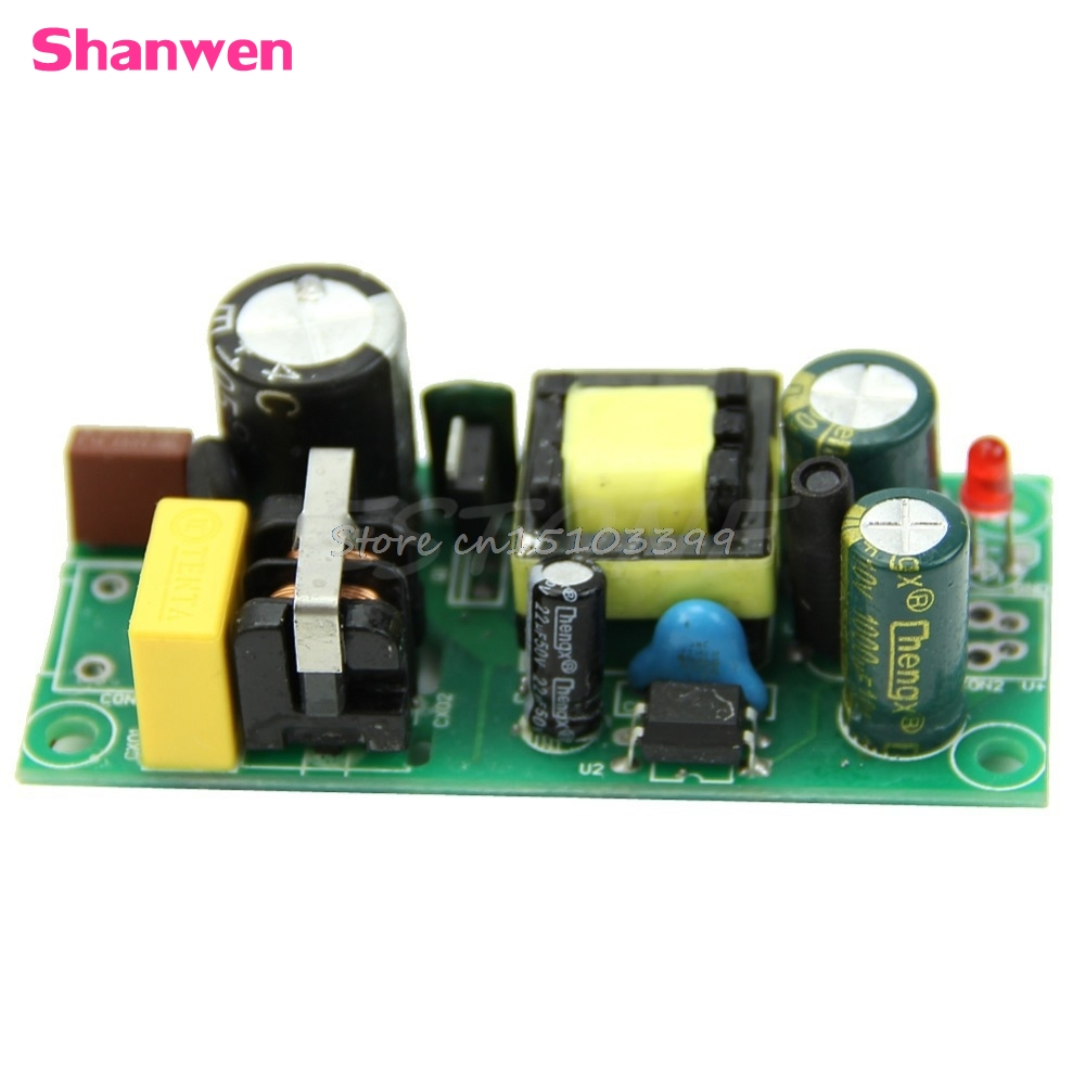 5V 2A Precision Isolation Bare Plate Switching Power Module Supply Regulator 10W G08 Drop ship 20v 1 2a power module 220v to 20v acdc direct switching power supply isolation can be customized