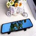 L8000 blue Mirror Dual Lens Tachograph New Anti for Glare Hd 1080p Recorder