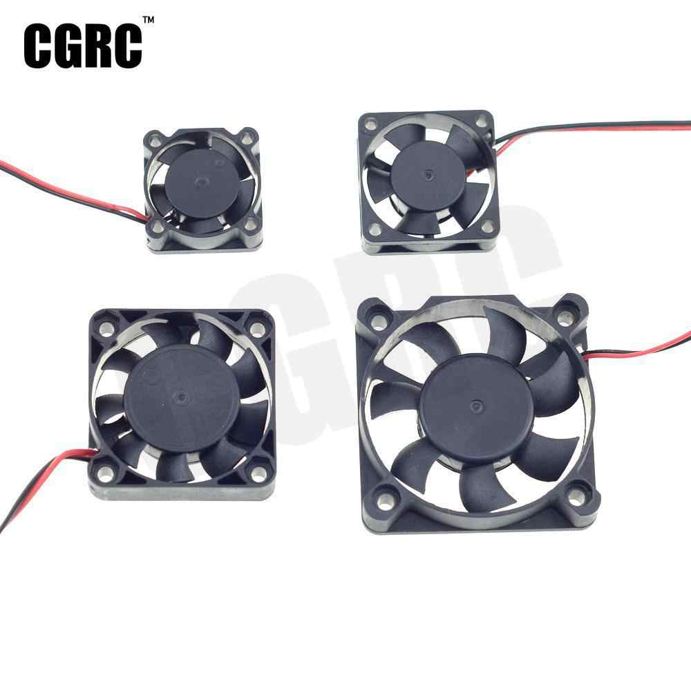 Double Bearing Strong wind Motor ESC cooling fan for 1/10 RC Crawler Car RC Short-Course Truck Drifting RC Car Monster Truck