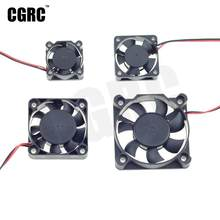 Double Bearing Strong wind Motor ESC cooling fan for 1/10 RC Crawler Car RC Short-Course Truck Drifting RC Car Monster Truck(China)