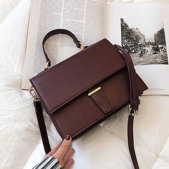 Burminsa Korean Style Women Handbags Female Briefcase Unique Crocodile Print Ladies Shoulder Messenger Bags 2019 Red Black Khaki - DISCOUNT ITEM  49% OFF All Category