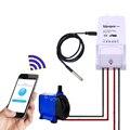 Sonoff й 10а Умный Дом Беспроводной Таймер Переключатель Wi-Fi Контроллер для IOS Android телефон с Температуры и влажности