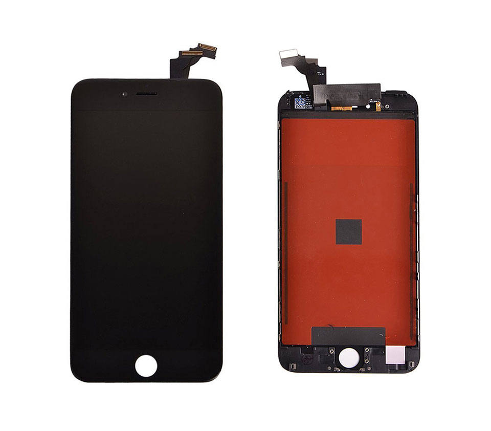A 5 5 Inch 6 Plus LCD Screen Replacement Touch Screen With Frame Digitizer Display Assembly