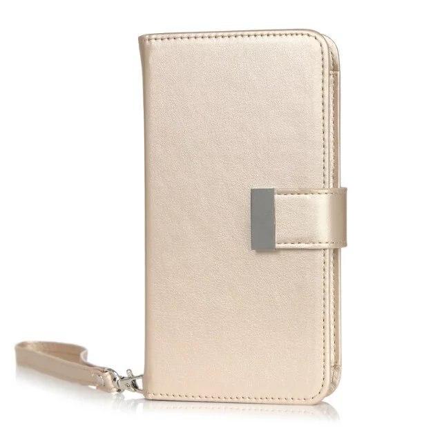 "4 Colours Magnetic Girl Women Bag With Card Slots Handbag Holster Wallet Design Phone Cases For lg g2 g3 g4 g5 k10 5.5"" Cover"