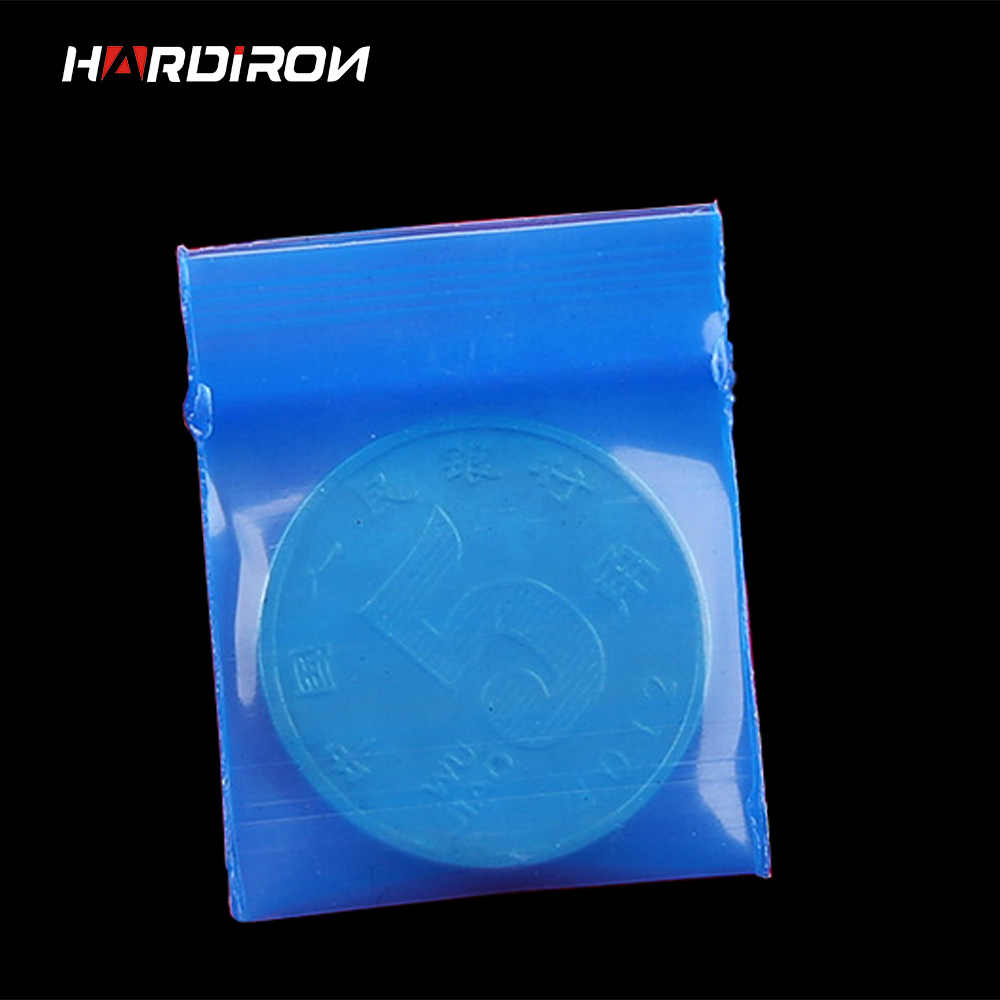 500pcs Small Size Blue Color Self Sealing Zip Lock Bags Jewelry Mini Pouches Plastic Packaging Bags