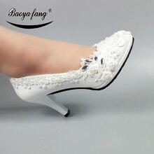 العروس مضخات الزفاف أحذية
