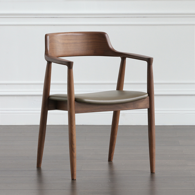 Dining chairs don't just need to be practical and comfortable, but also stylish and ideally matching your dining table and dining room décor as well. Nordic Solid Wood Dining Chair Kennedy President Chair ...