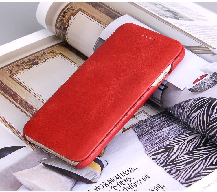 B8 Fierre Shann Super Luxury Genuine Leather Case For iPhone X XR XS Max 6 6S 7 7plus 8 8plus Flip Phone Cases Cover Capin Shell