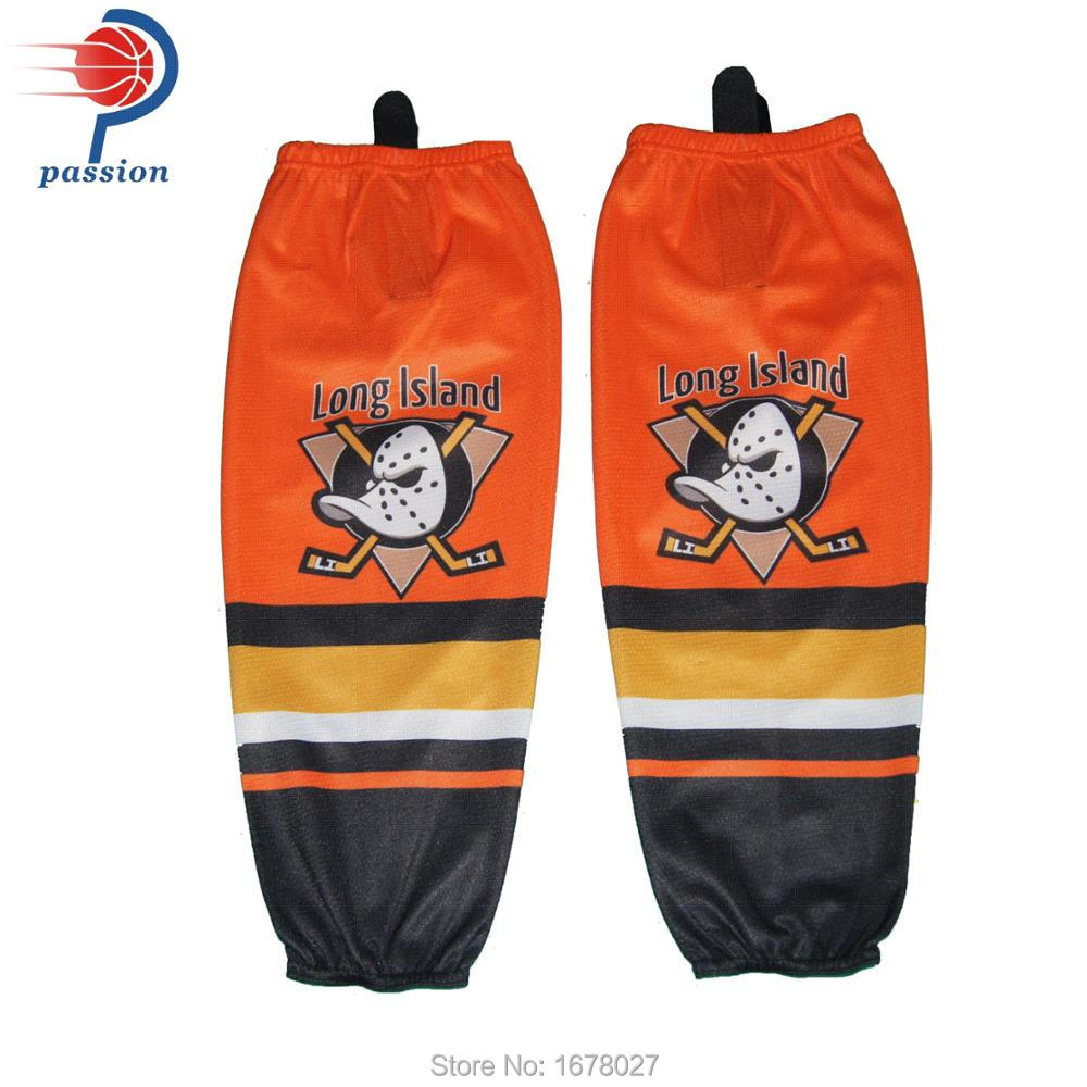 Long Island Orange Pro Hockey Jerseys With Custom Team Logos numbers names  customized-in Hockey Jerseys from Sports   Entertainment on Aliexpress.com  ... 9314c3eb3