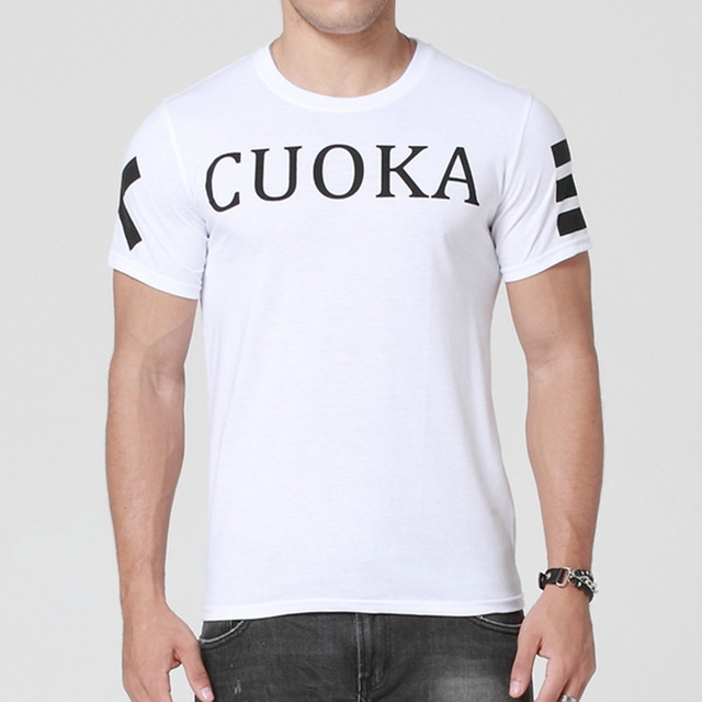 2015 fashion brand CUOKA T-shirt men hip hop men t shirt harajuku men Cotton tops & tees men clothes