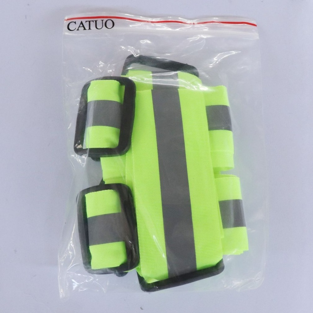 Breathable High Visibility Reflective Safety Vest Safety Outdoor Cycling Reflective Glow Night Running Chaleco Reflectante Vest in Safety Clothing from Security Protection