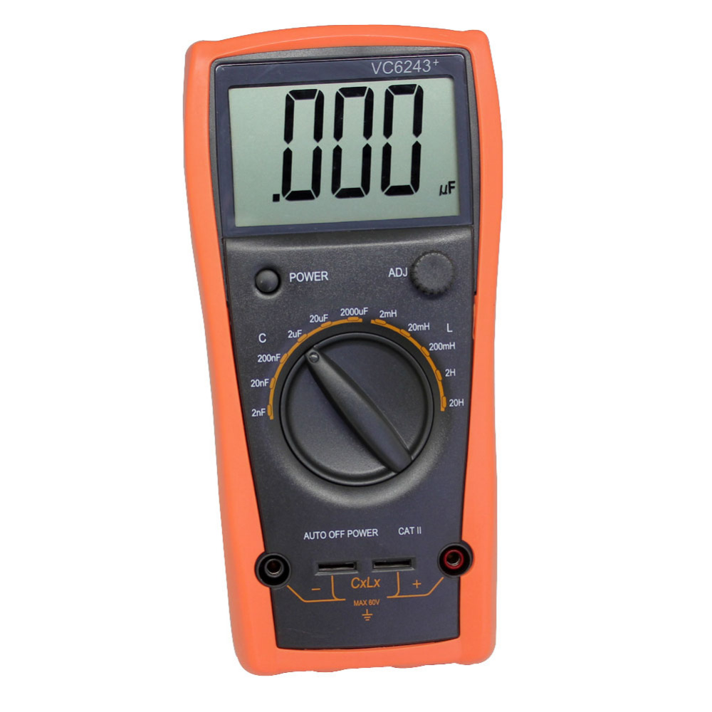 Inductance Capacitance Meter Schematic Lc Vc6243 Digital 20h Katalog Aidetek New 3 1 2 Large Lcd 2000uf Free Shipping