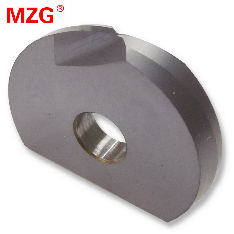 MZG P3202-D10(R5) D16(R8) ZP35 Carbide Inserts Steel Processing Fast Feeding Cutting Milling Cutter Machining mzg spmg050204 zp1520 abandon sp cnc lathe machining type fast drill solid carbide inserts for stainless steel processing