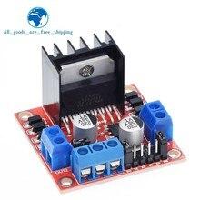 Módulo duplo l298n da placa do controlador da movimentação do motor deslizante da c.c. da ponte de tzt h
